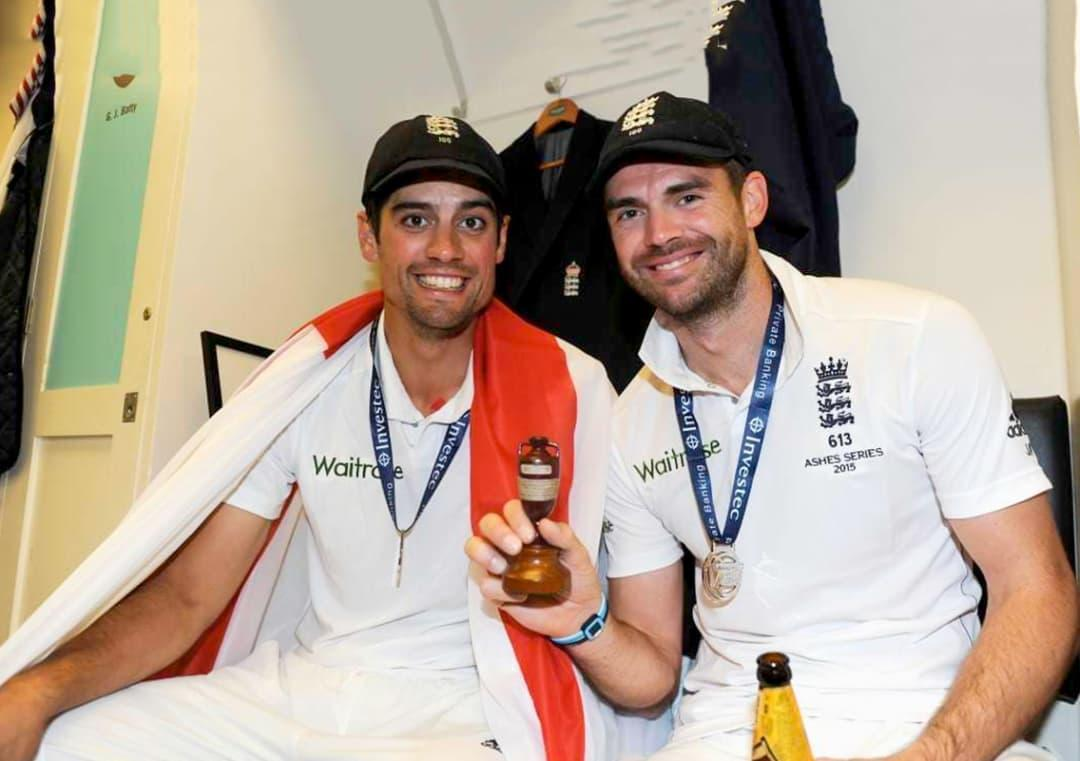 Alastair Cook should have retired 2 years ago, jokes James Anderson #Cricket #India #England #INDvENG #INDvsENG #ENGvIND #ENGvsIND #AlastairCook #JamesAnderson