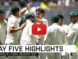 India vs Australia 2nd Test Day 5 Highlights 2018 #Cricket #India #Australia #INDvAUS #AUSvIND #INDvsAUS #AUSvsIND #ViratKohli #TimPaine #Perth #MohammadShami #NathanLyon